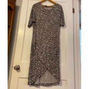 Victoria's Secret cheetah print dress